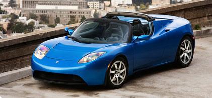 Tesla Roadster bil